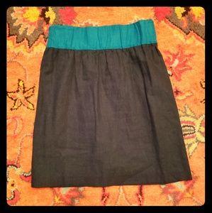 Loeffel Randall Linen Pencil Skirt